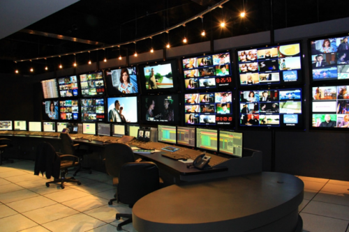 Figure 2 ABS Master Control Room in Subic